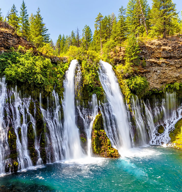 The Spectacular Burney Falls in McArthur-Burney State Park