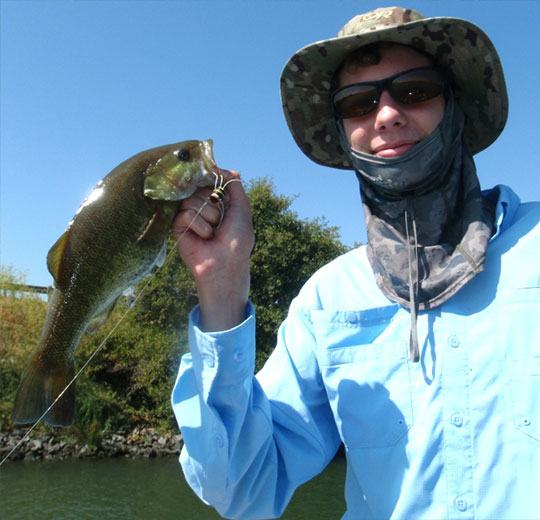Delta Bass are very beginner-friendly for new fly fishers