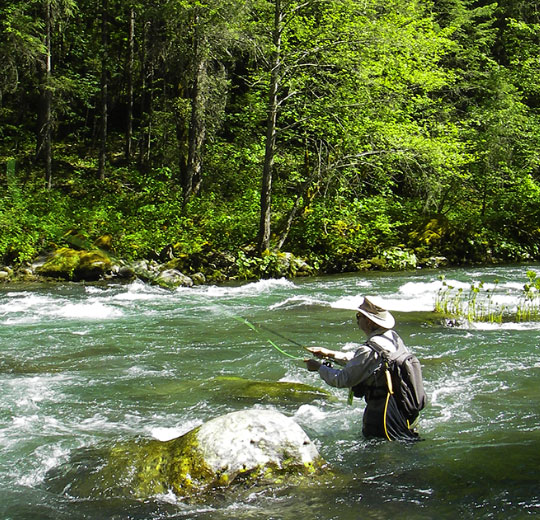 Home to the famous McCloud River Rainbow, this is one of our favorite wade fishing destinations