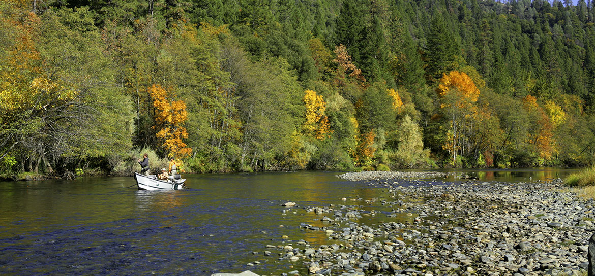 Weaverville and Lewiston are home to the Trinity River, a great steelhead fishery.