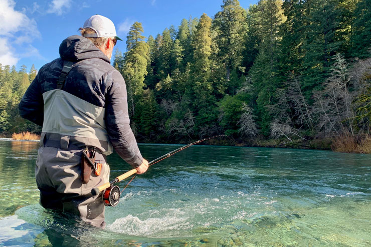 Swinging a run for winter steelhead